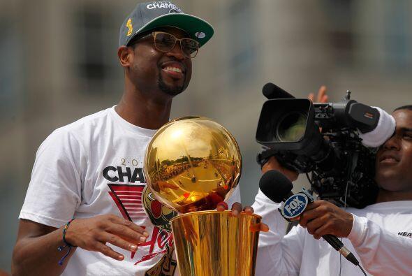 Este fue el segundo trofeo de los Heat en la final de la NBA en los últi...
