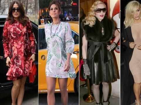 Algunas de estas celebridades pasaron el juicio 'fashionista' de la sema...