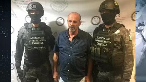 Autoridades mexicanas detuvieron a un italiano por presunto tráfico de c...