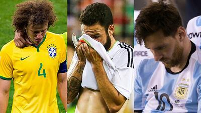 'Viacrucis' del fútbol latinoamericano: el sufrimiento de selecciones en duras derrotas