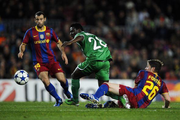 Barcelona, ya clasificado a Octavos, recibió al Rubín Kaz&...