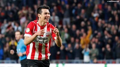PSV agradece a los fans de México por el 'Chucky' Lozano y Erick Gutiérrez