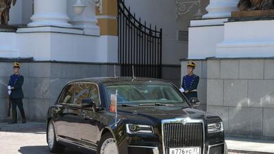 Lujo ruso: esta es la nueva limusina de Vladimir Putin