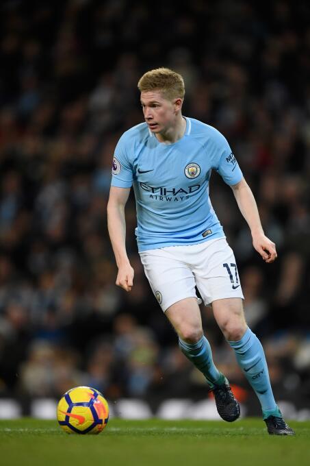 14. Kevin De Bruyne (Manchester City / Bélgica)