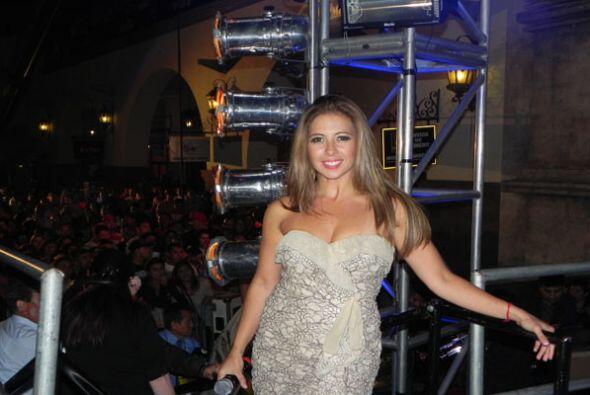 ¿Qué tal este modelo que vistió para El Grito en Los Ángeles del 2011?