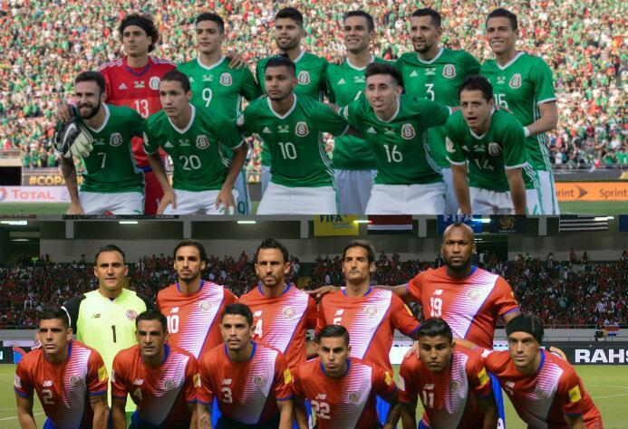 El 'Tri' es ampliamente más costoso que la selección de Costa Rica Mex C...