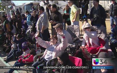 Llamado de seguridad a público del Desfile de las Rosas