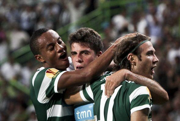 Los portugueses se adelantaron con un tanto de Wolfswinke.