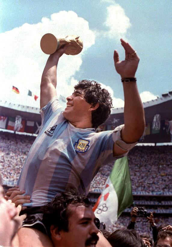 Diego Maradon 1986
