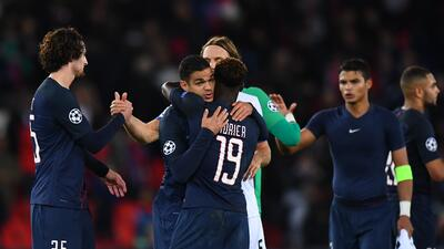 PSG derrotó 3-0 al Basilea