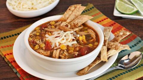 Prepara una fácil y deliciosa Sopa de Tortilla