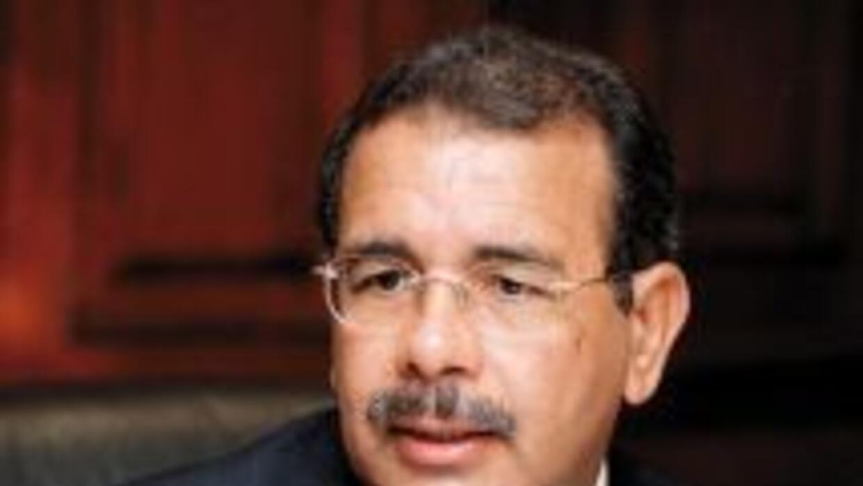 El candidato a la Presidencia de República Dominicana, Danilo Medina.