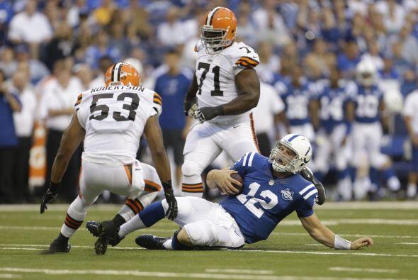 26. Cleveland Browns procedente de los Indianapolis Colts