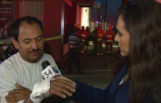 El incendió en el motel dejó un saldo de 15 heridos y un f...