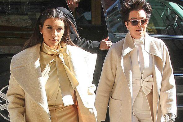 Kim y Kris como dos gotas de agua. Mira aquí los videos más chismosos.