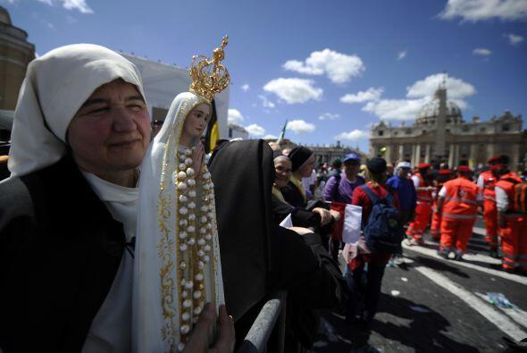 Religiosas de todas partes del mundo y de todas las órdenes llegaron a l...