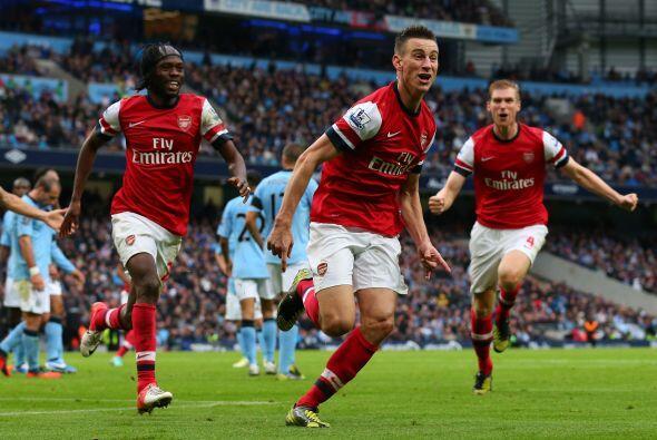 Defensa, Laurent Koscielny: El zaguero del Arsenal tuvo una actuación re...