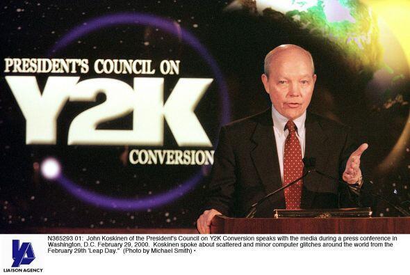 Razón #18: El Mundo debió llegar a su fin el 1 de enero de 2000, con la...