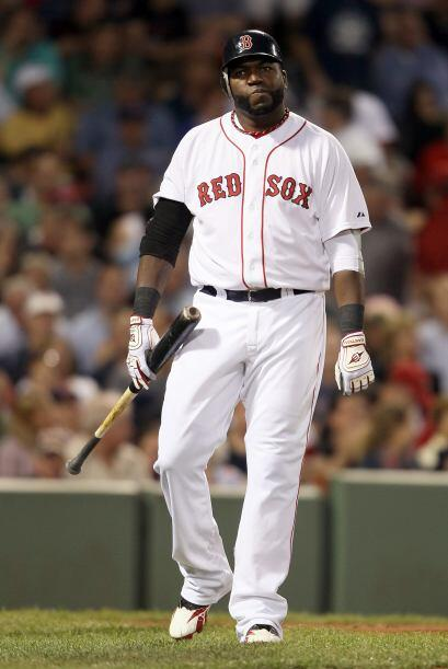 DH. David Ortiz. Medias Rojas de Boston. 'Big Papi' bateó para .348 esta...