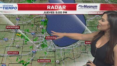 Ventana al Tiempo: Posibilidad de lluvias y tormentas este viernes en Chicago