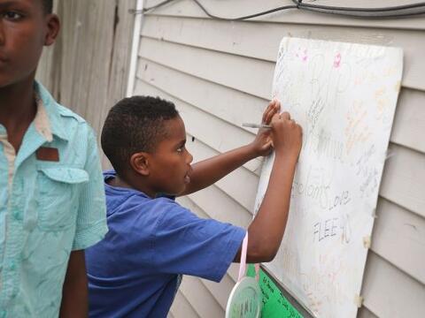 Comunidad llora muerte de nina de 11 anos