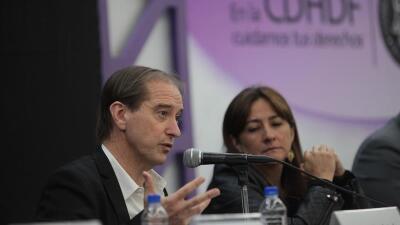 Integrantes del grupo interdiciplinario de expertos independientes (GIEI)