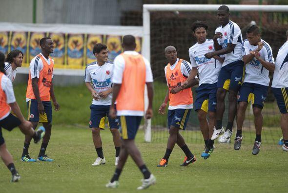 La selección cafetera entrena doble turno para la próxima Copa América.