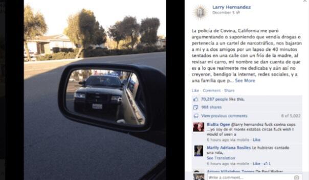 Larry Hernández y sus escándalos en las redes sociales.