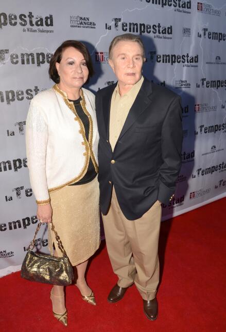 Miguel Palmer y su esposa