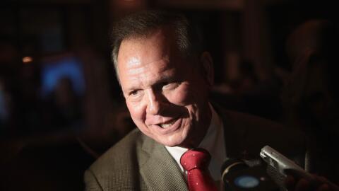 Roy Moore en un evento electoral en Montgomery, Alabama.