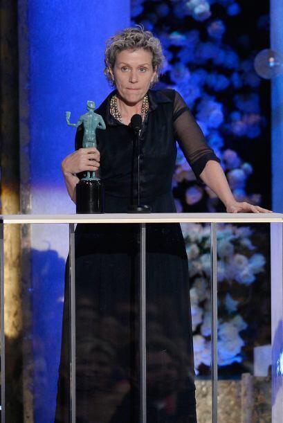 La última vez que había ganado un SAG Frances McDormand fue por 'Fargo'...