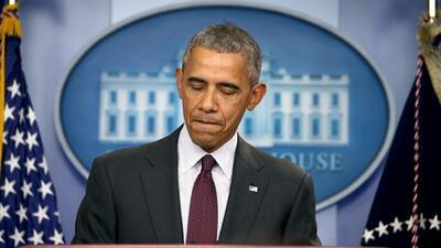 Obama dice que hay que cambiar las leyes para que no ocurran episodios c...