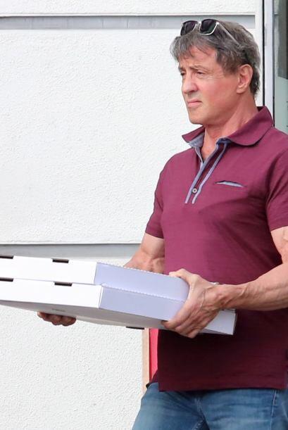 Siguiendo con los hombres de acción tenemos a Sylvester Stallone...