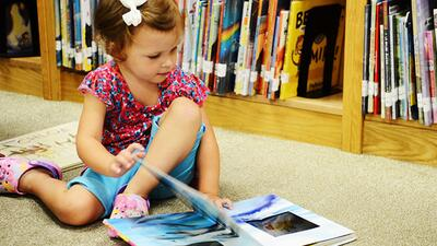 It's never too late to encourage your child to be a reader.