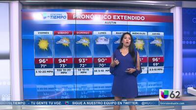 Continúan las temperaturas cálidas en Austin