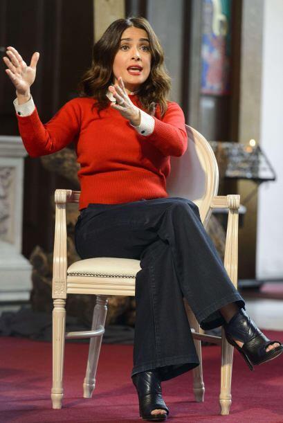 La actriz mexicana habló en una conferencia en Londres sobre cómo tener...