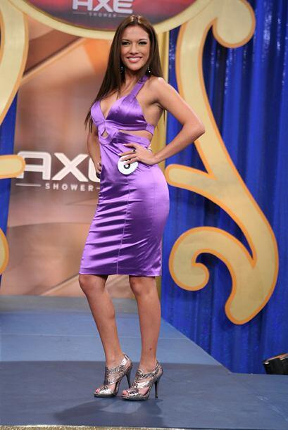 La ecuatoriana Michelle Andrade trajo mucha belleza.