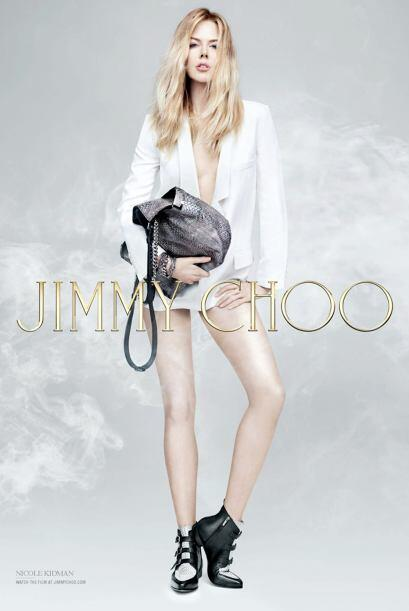 ¡Nicole Kidman y Jimmy Choo siempre resultan una combinació...