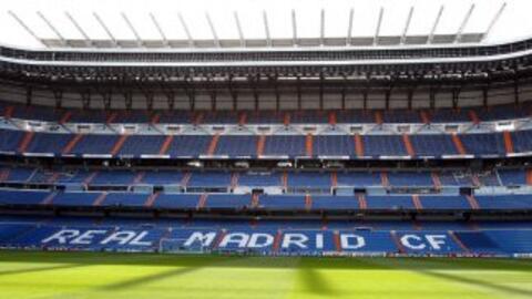 Estadio Santiago Bernabéu.