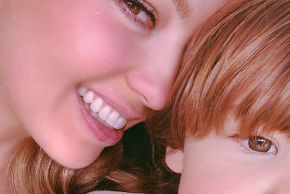 Por primera vez Thalía compartió con su público imágenes de sus hermosos...