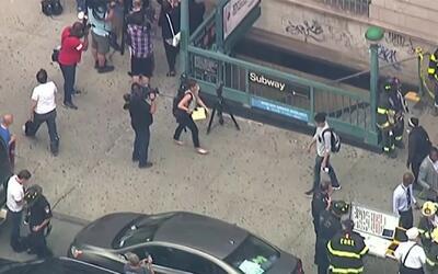 'Nueva York en un Minuto': emergencia en estaciones del metro, en Manhat...