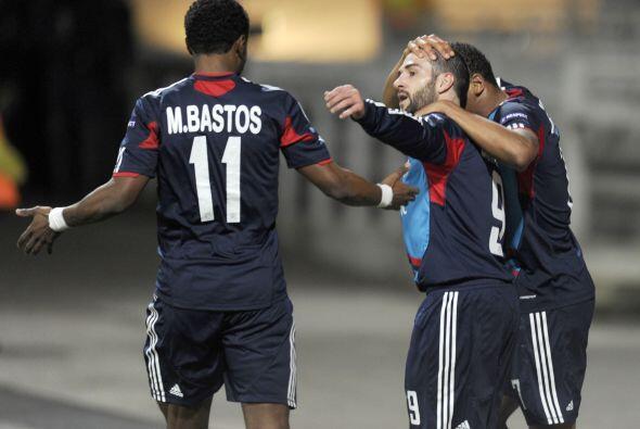 Los galos se pusieron en ventaja con un gol de Lisandro López.