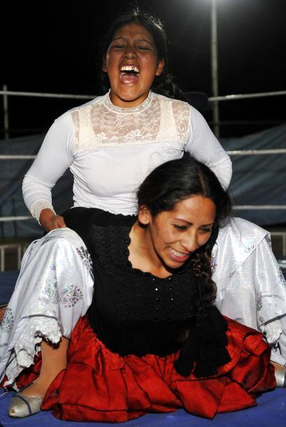 Es tan popular el espectáculo que en las ciudades de El Alto y La...
