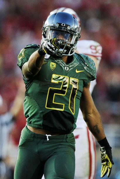"5. LaMichael James - Oregon - Edad 22 años - Estatura 1.75 m (5'9"") - Pe..."
