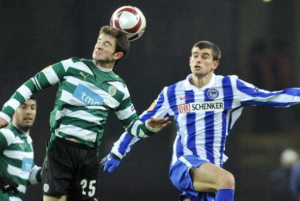 El Hertha de Berlín le ganó al Sporting de Lisboa y los dos clasificaron...