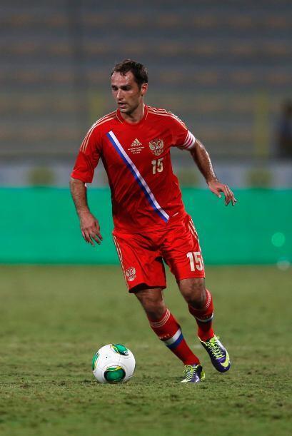 Roman Shirokov.- El capitán del cuadro ruso en un bastión en el medio ca...