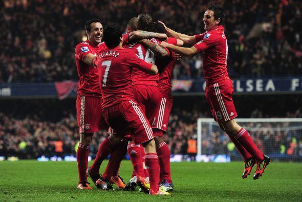Tres valiosos puntos para el Liverpool, que hizo suyo el campo de los 'B...