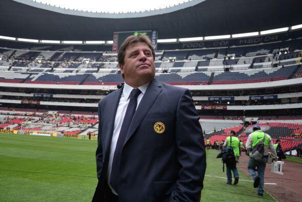 """América ha jugado 40 partidos en el Estadio Azteca desde que el """"Piojo""""..."""