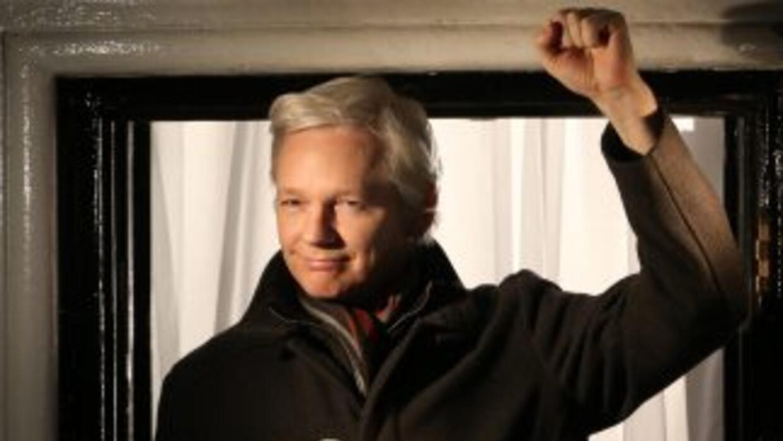 Assange lleva refugiado en la Embajada de Ecuador en Londres desde 2012.