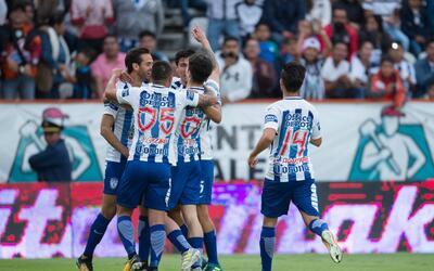 Pachuca sumó sus primeros tres puntos del torneo.